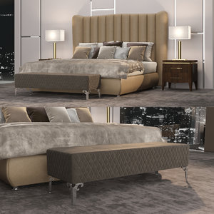 bed dv home hermes 3D model