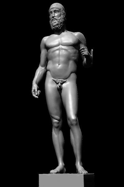 bronzo b 3D model