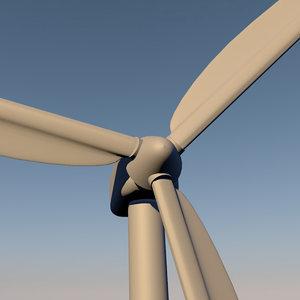 windmill wind c4d