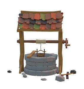 3D wells architecture structures
