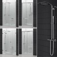 3D set shower doors ravak