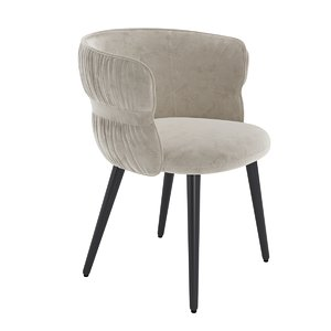3D armchair potocco coulisse
