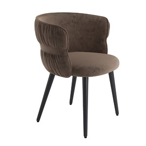 3D armchair potocco coulisse model