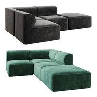 eave modular sofa 3D model