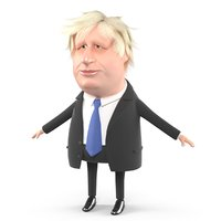 Boris Johnson Cartoon Caricature