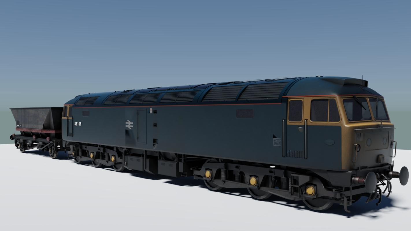 3D british rail class