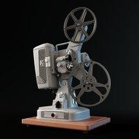 Keystone 109D 8mm Cinema Projector