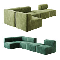 3D eave modular sofa
