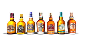 chivas bottle 3D