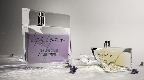 3D perfume love story