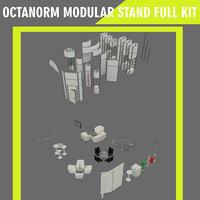 3D octanorm modular stand kit
