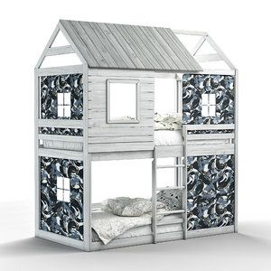 campbell s clubhouse bunk bed 3D model