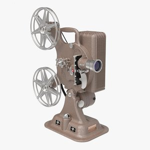 3D keystone a81 movie film projector model
