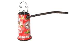 antique chinese opium pipe model