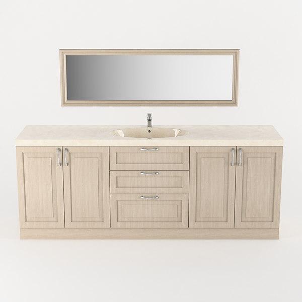 bath sink bathroom model