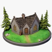 stylized scottish house games model