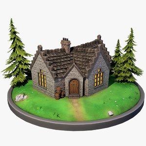 stylized scottish house games model