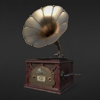 3D gramophone record phonograph