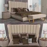 settings bed dv home 3D