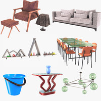 3D household goods table