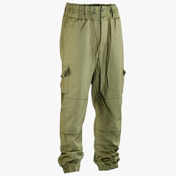 3D realistic military green pants