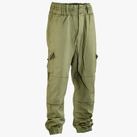 3D realistic military green pants