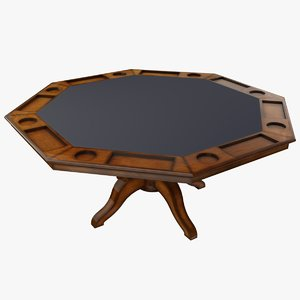 3D poker table