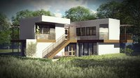 Revit - Large Open Plan Villa 3+1 330msq