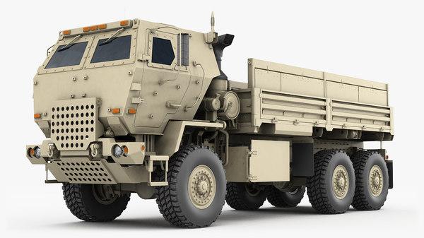 m1083 cargo truck 3D
