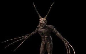 creature monster 3D model