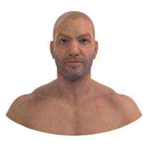 3D brutal bad guy model