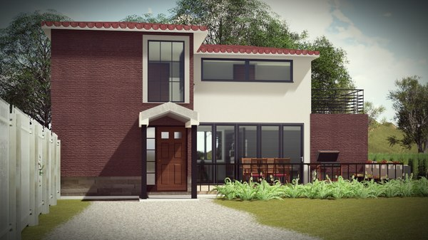 architecture bim 2 1 3D model