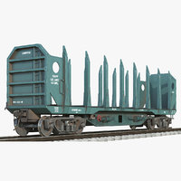 3D logging car 01