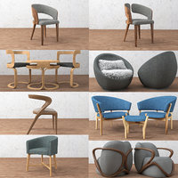 chair furniture seat model