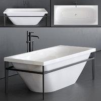 3D xviu bathtub model