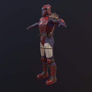 3D dyre star wars model