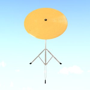 3D model ride cymbal