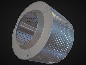 drum washing machine 3D