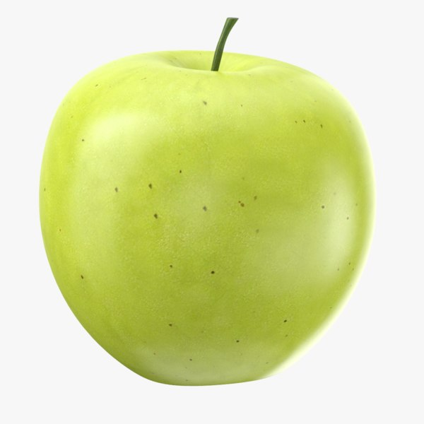 apple fruit 3D model
