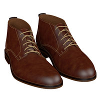 shoes brown 3D
