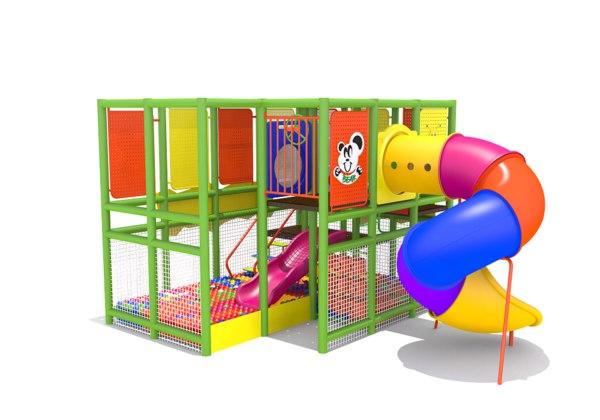 indoor playland playground 3D model