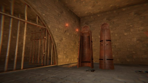 vr torture - dungeon 3D model