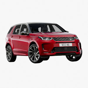 2020 land rover discovery 3D model