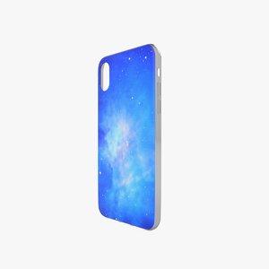 3D model iphone case x