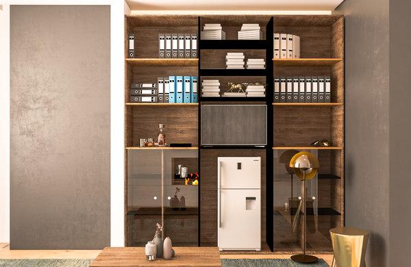 3D cabinet light