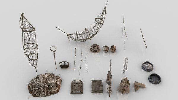 fish net 3D