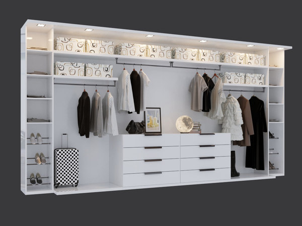 3D women wardrobe