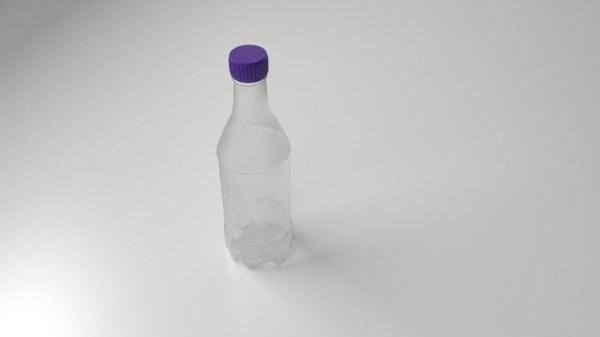 plastic bottle 3D