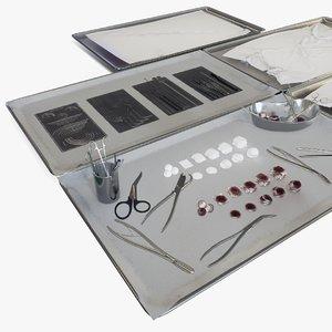 3D surgical inventory medicine model