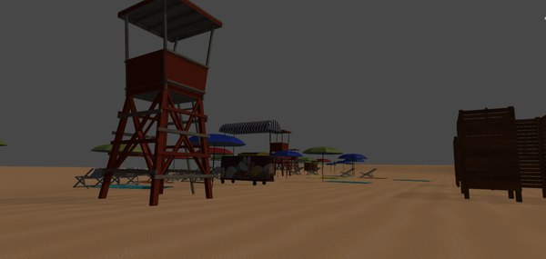 beach - resort model
